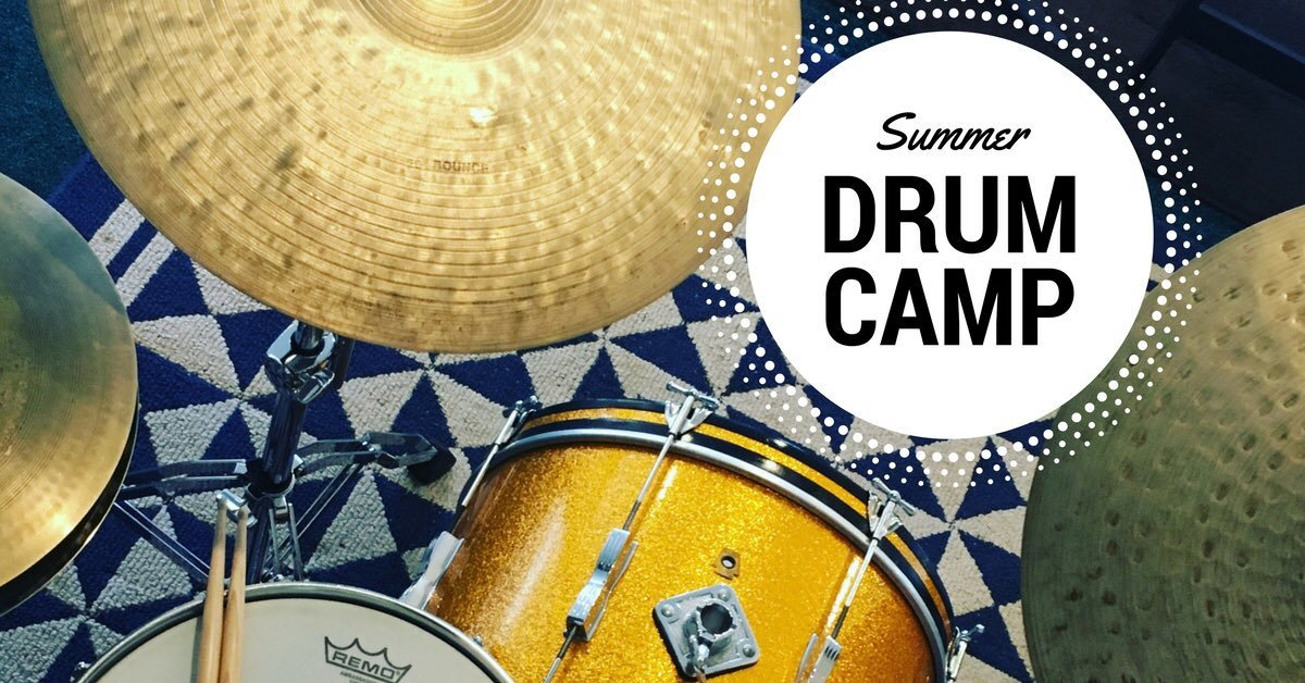 SUMMER DRUM CAMP 2018!!!