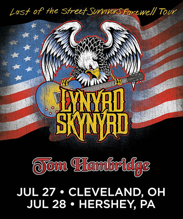 TOM HAMBRIDGE AND THE RATTLESNAKES SUPPORTING LYNYRD SKYNYRD!